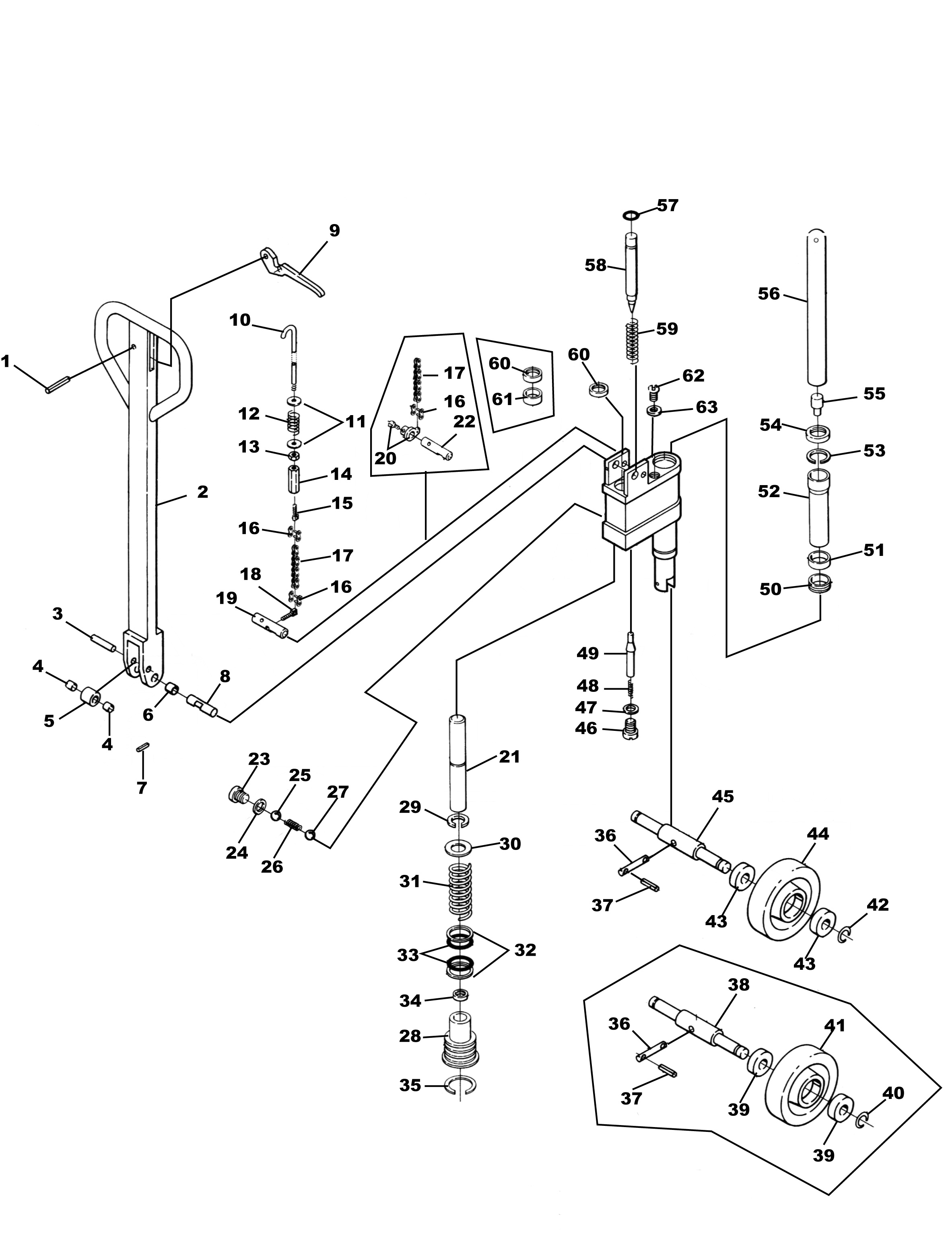 dayton pallet jack parts list within diagram wiring and engine