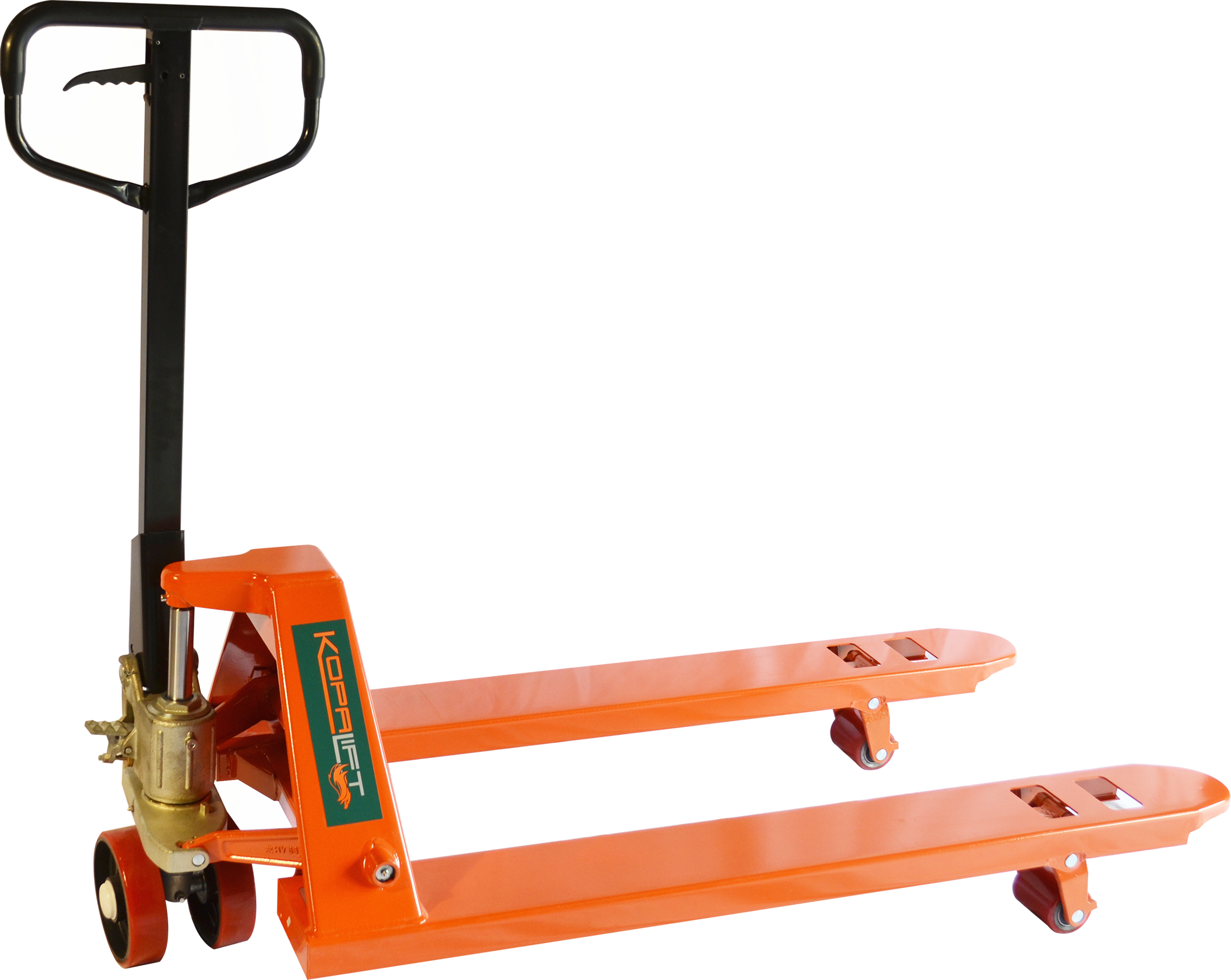 "Best Value Pallet Truck - 20""x48"" W/ Steel Wheels"